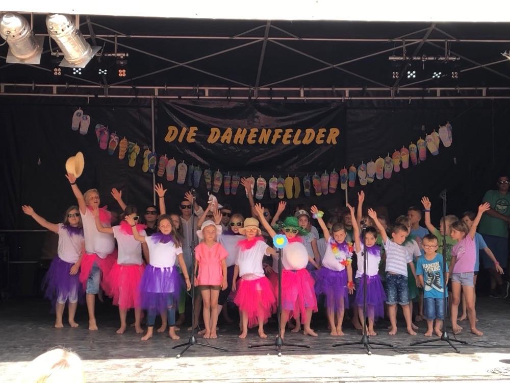 Projektwoche und Dorffest