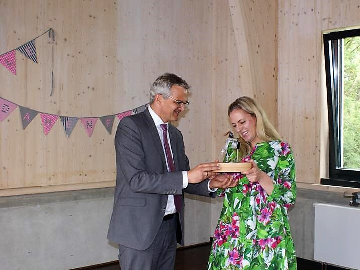 Amtseinseinführung von Frau Pollmächer als Rektorin