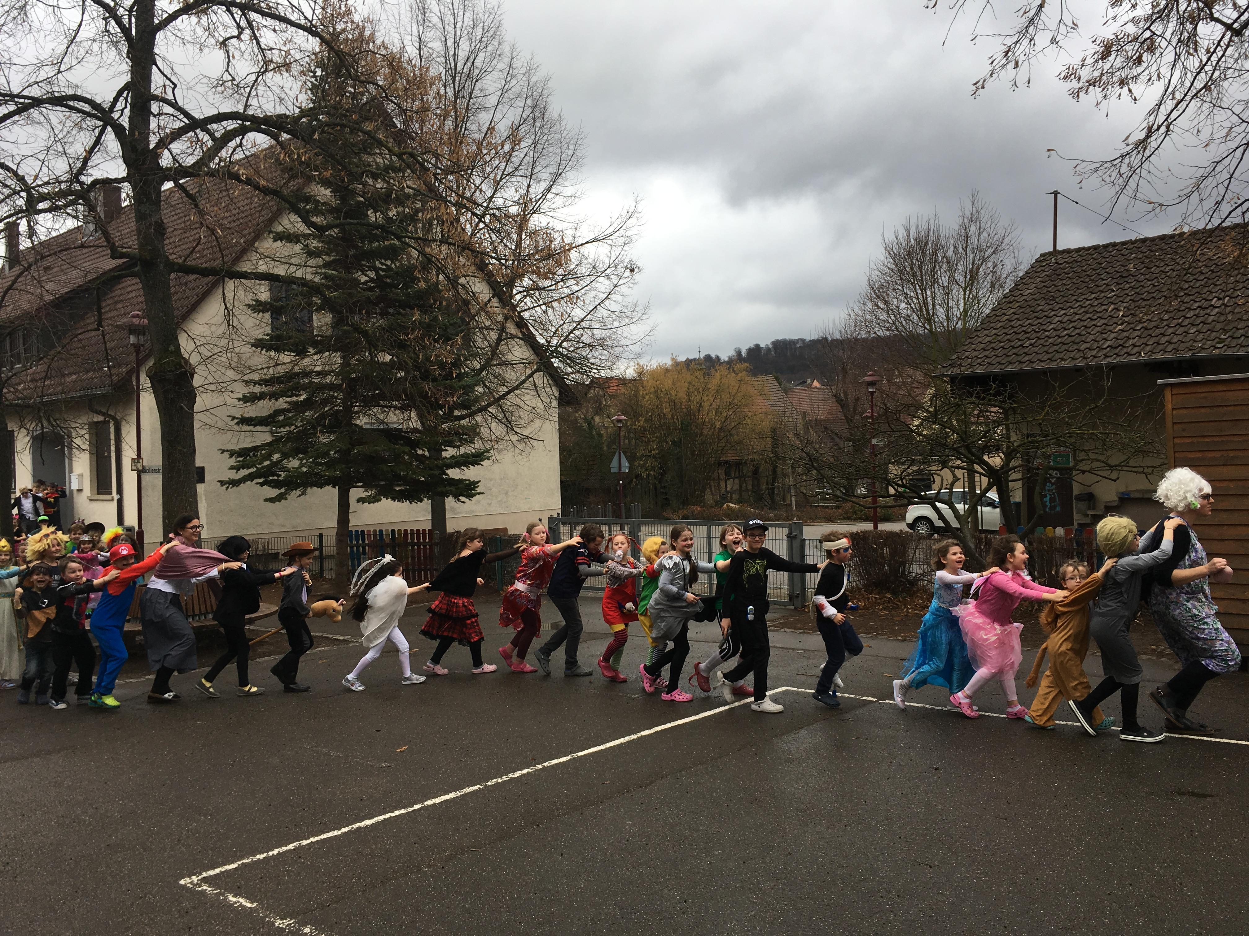 Faschingsfeier an der Grundschule