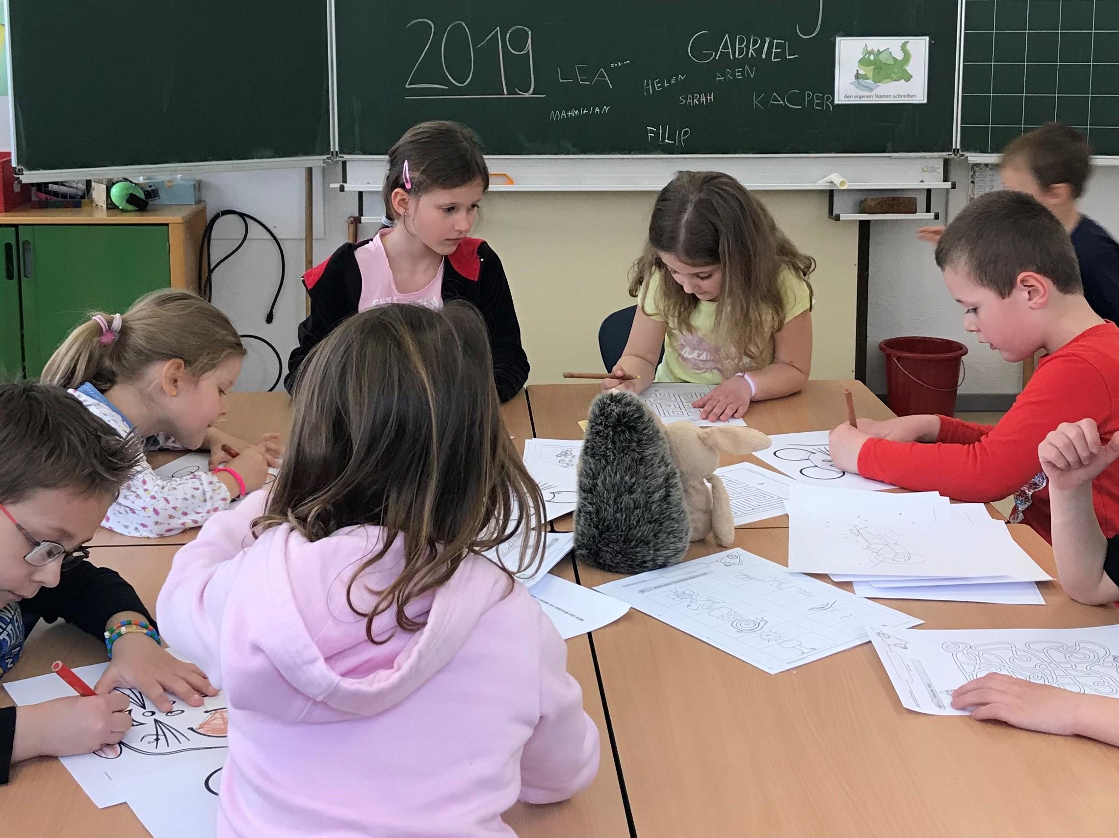 Schulanmeldung für zukünftige Schulkinder