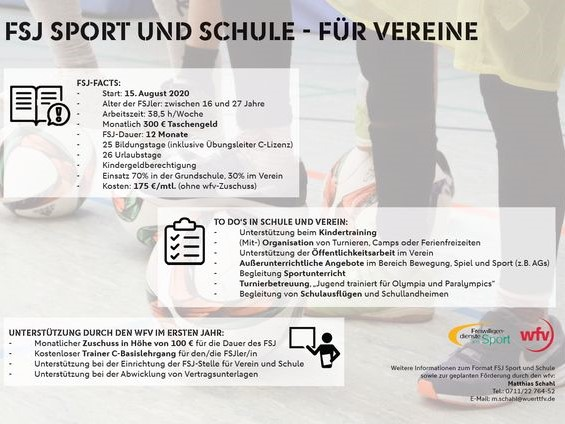 FSJ Sport und Schule